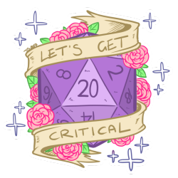 D tumblr more designs. D20 clipart critical banner library stock
