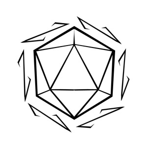 D20 clipart drawn. D drawing at getdrawings png library download