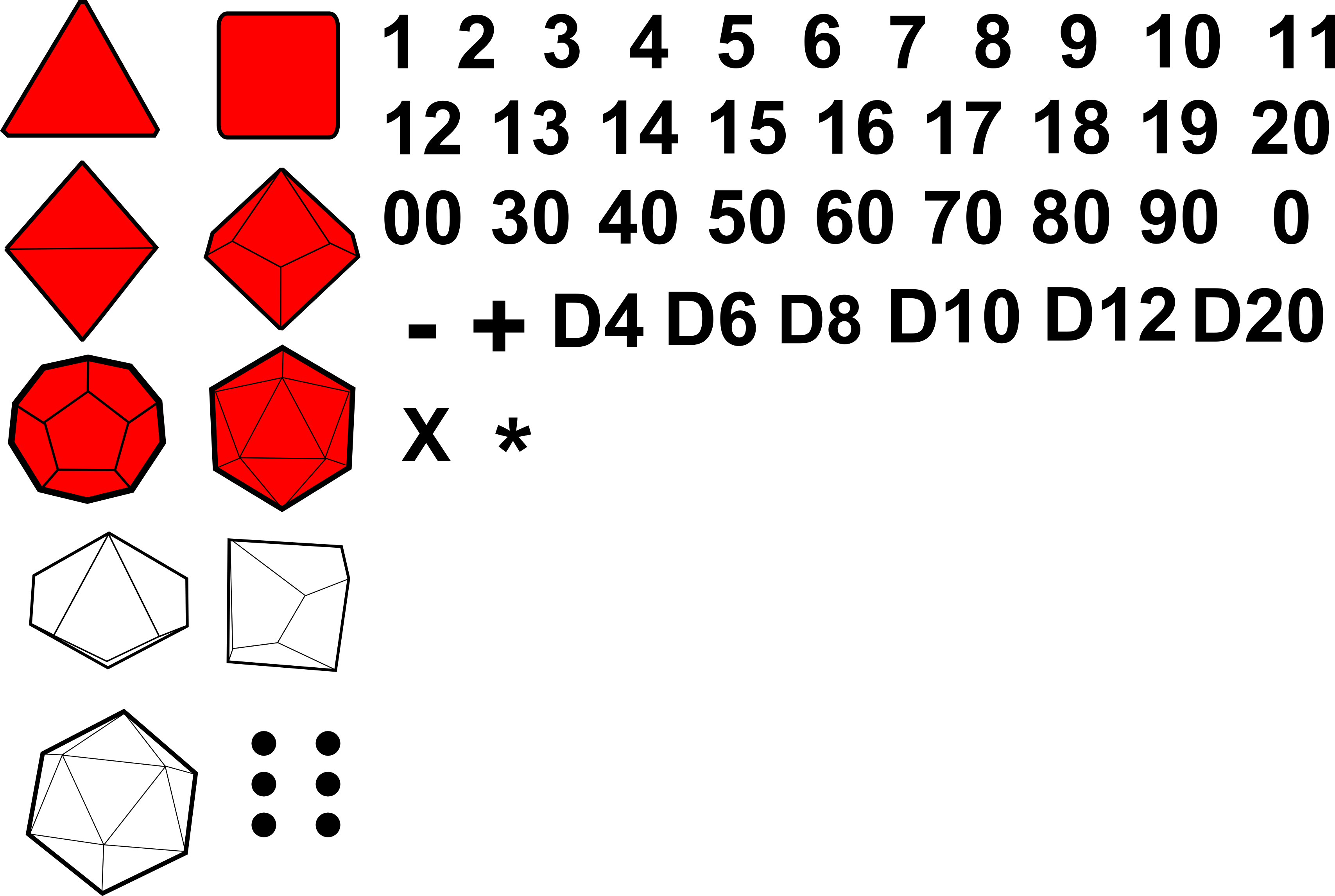D20 outline png. I need clipart dice