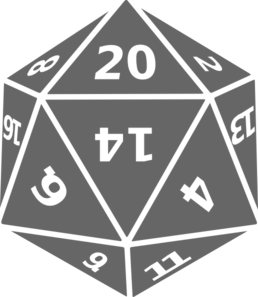 D20 svg. D picture library