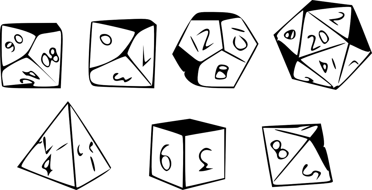 d picture library. D20 clipart drawn clipart black and white