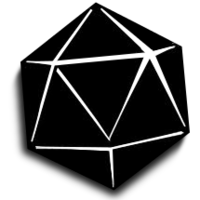 D20 svg black and white. D icon free icons