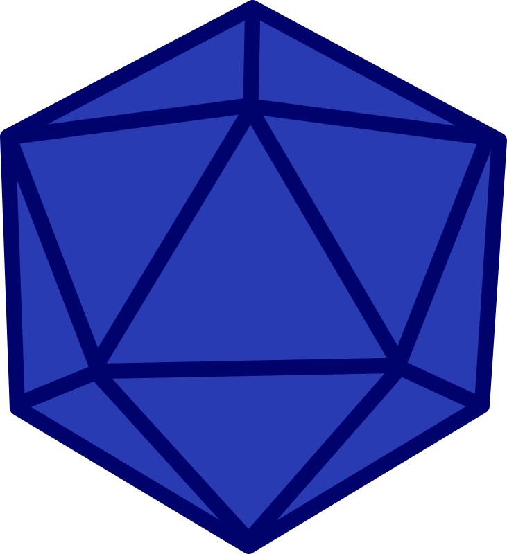 Dice png blank. Clipart d medium image