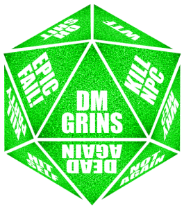 D20 transparent green. D reality dice by