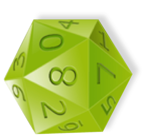 D20 transparent green. Essential tips for