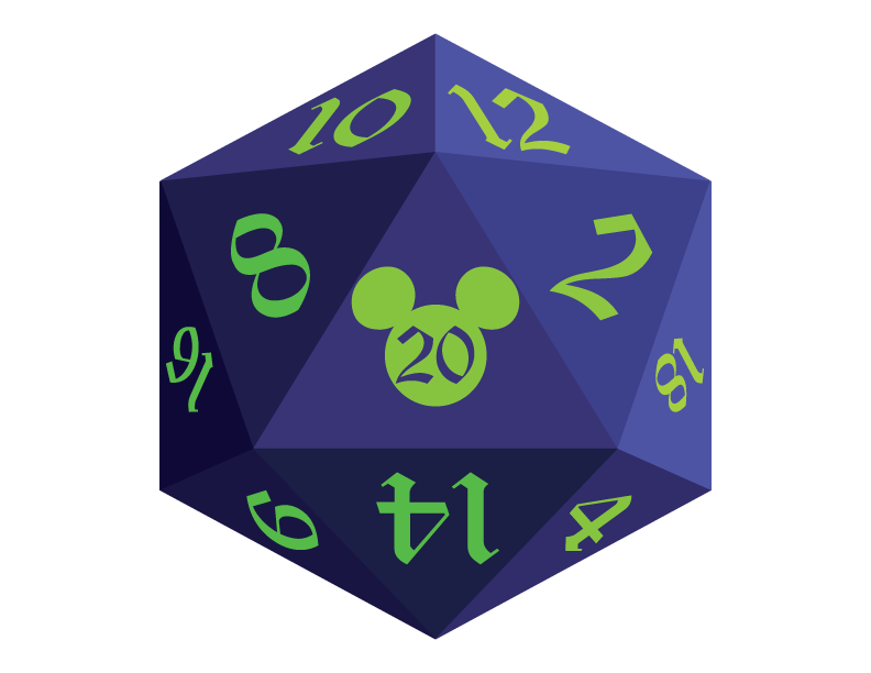 Disney d a clean. D20 transparent hour banner royalty free library