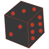 D20 transparent weighted. Chancejs chance min js