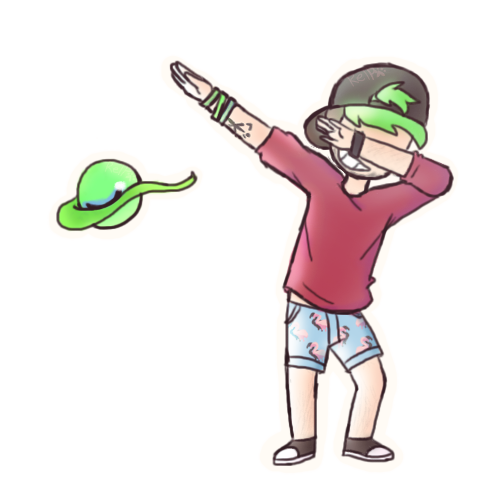 Dab on em png. Lean and jacksepticeye by