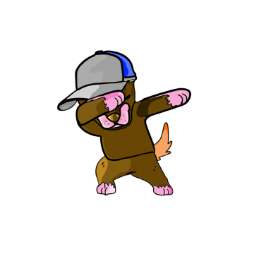 Dab vector. Inside png vectors psd