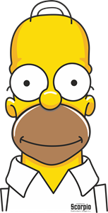 Dab vector simpsons. Logo cdr free download
