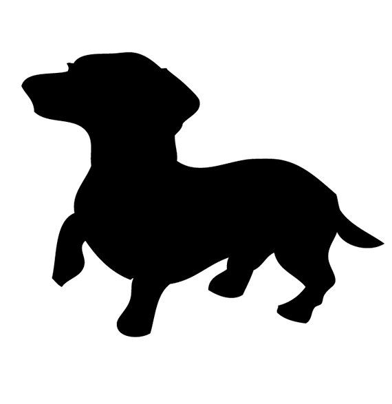 Dackel | Tattoo | Pinterest | Dachshunds, Silhouette and Clip art