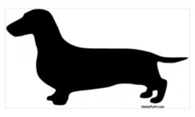 Free Dachshund Outline Cliparts, Download Free Clip Art, Free Clip ...