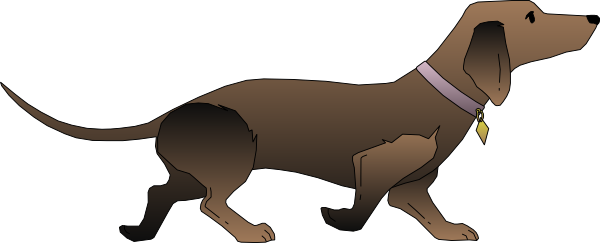 Dachshund clipart brown dachshund. At getdrawings com free