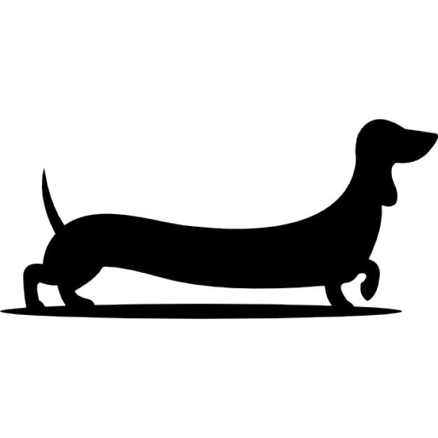 Silhouette at getdrawings com. Dachshund clipart chiweenie banner royalty free