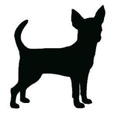 Record lost chihuahua canton. Dachshund clipart chiweenie clip black and white library