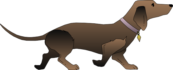 Dachshund clipart file. Free download clip art