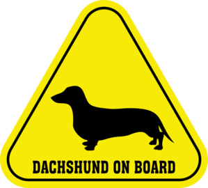 Clip art at clker. Dachshund clipart vector clip transparent library