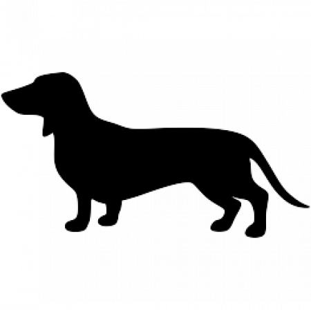 Admin page. Dachshund clipart vector png royalty free library