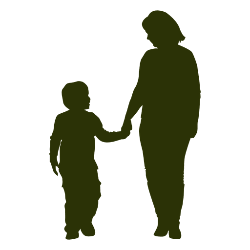 Dad and mom playing with son png image. Silhouette transparent svg vector