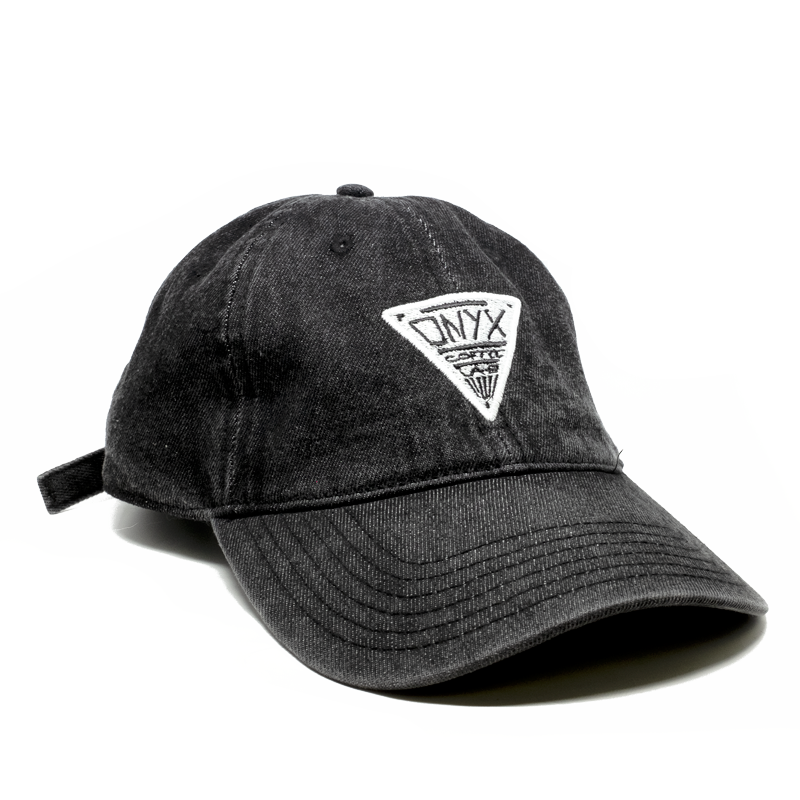 Dad cap png. Triangle hat onyx coffee