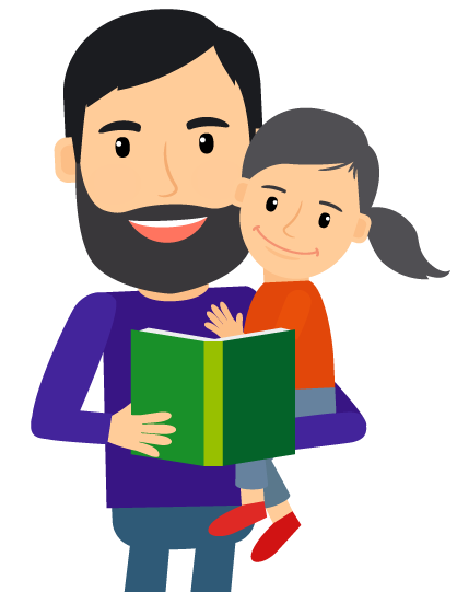 Dad cartoon png. Collection of free fathering