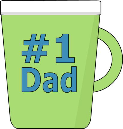 Dad clipart number one. Father s day clip