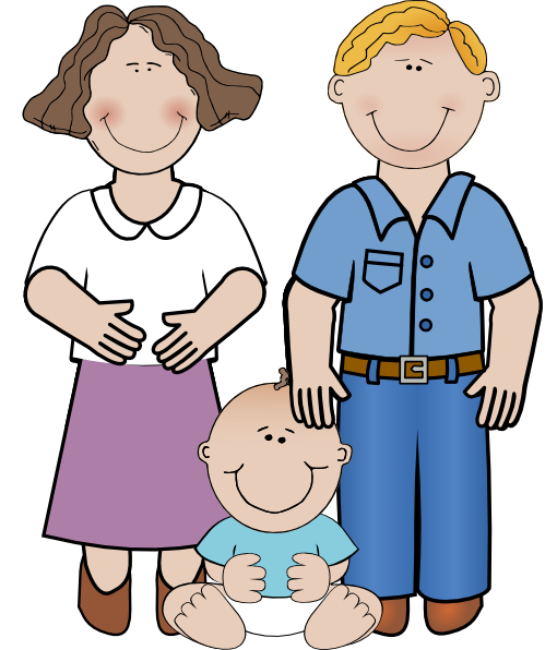 Dad clipart png. Mom and baby clip