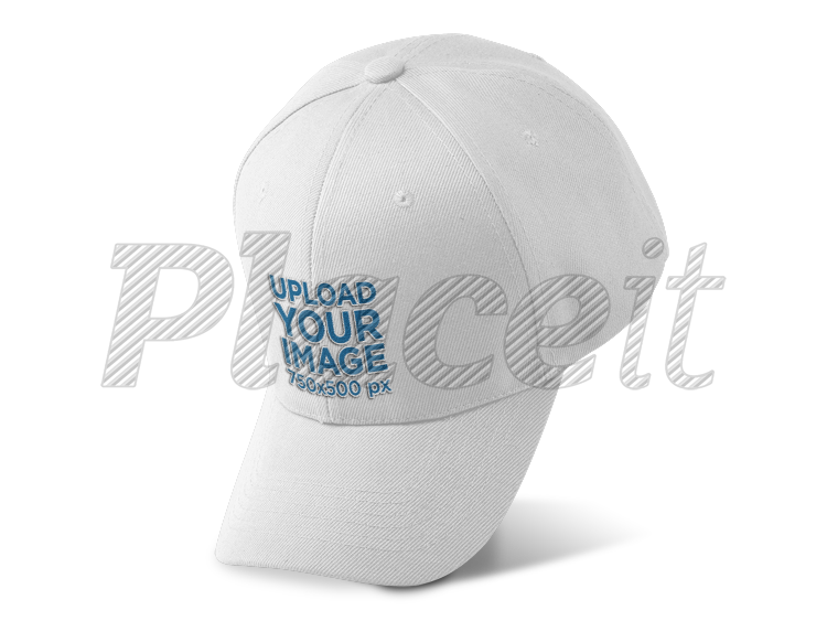 Dad cap png. Placeit hat mockup over
