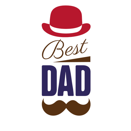 mustache dad png