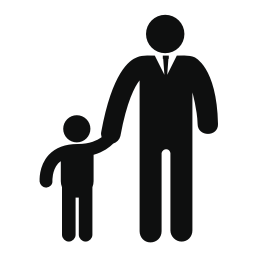 Dad png human. Father and son free