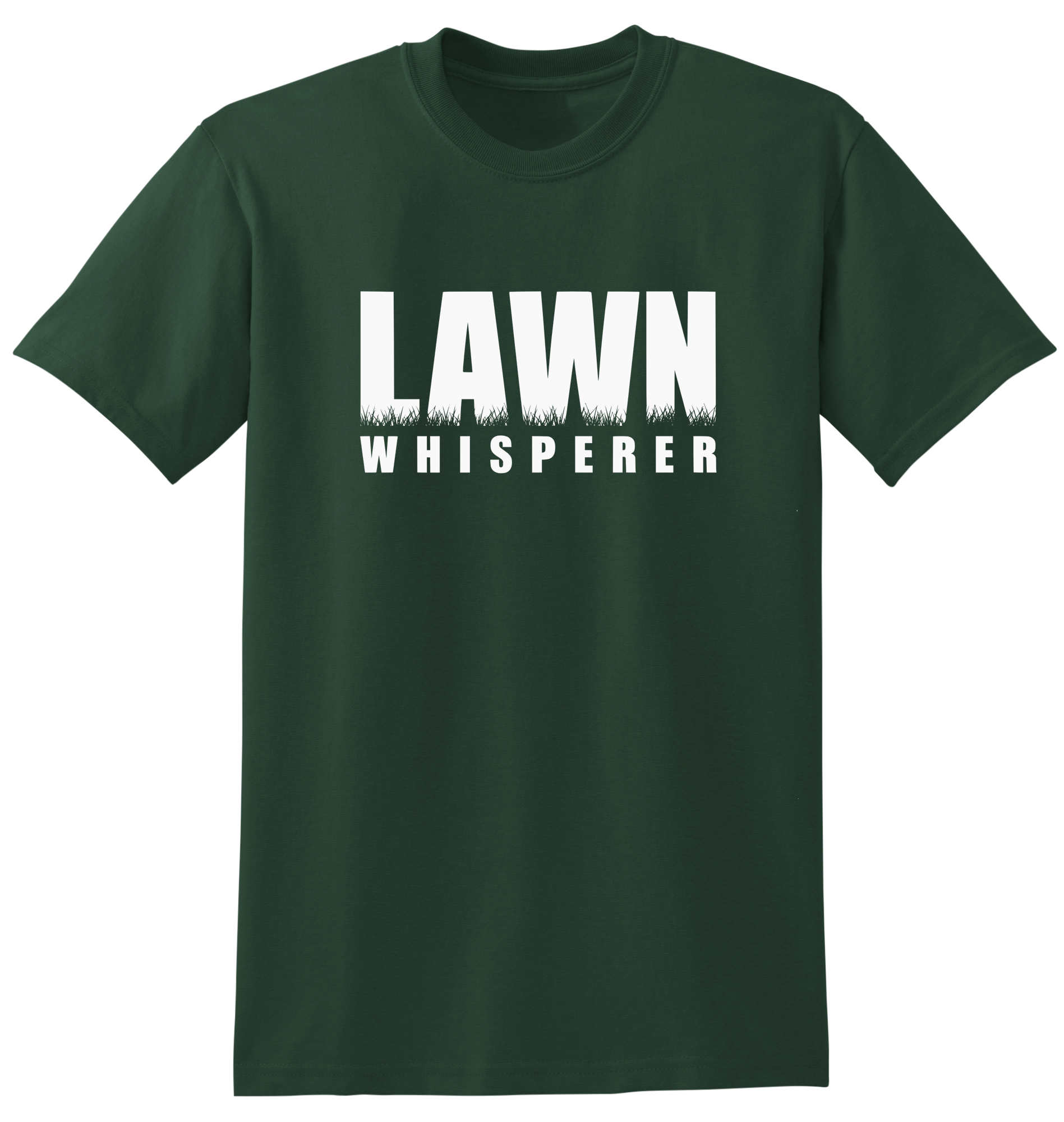 Dad shirt png. Lawn whisperer t care