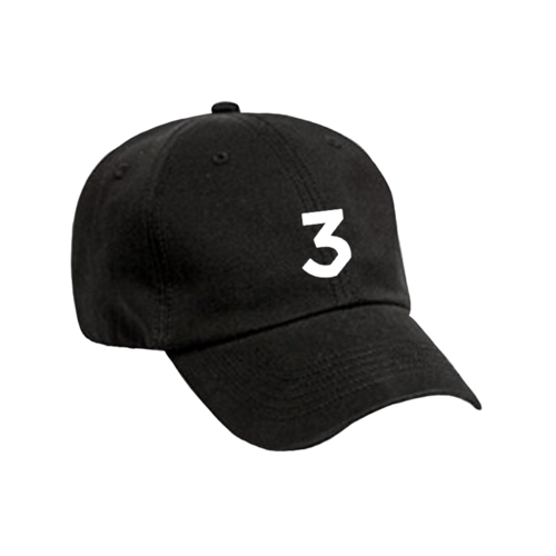 Cream dad hat png. Chance the rapper