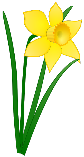 Spring and easterclip art. Daffodil clipart easter jpg freeuse download