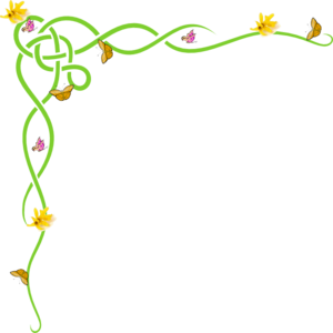 Daffodil clipart row. Free border cliparts download