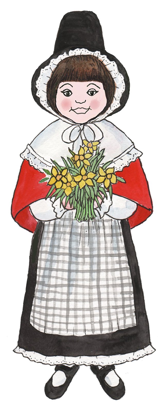 Daffodil clipart row. Wales free on dumielauxepices