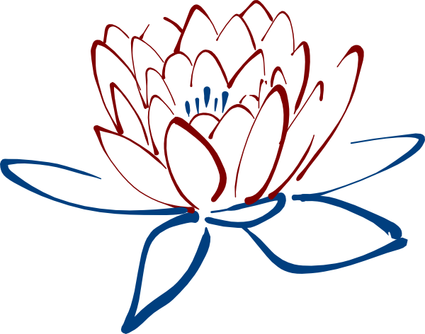 Daffodil vector mothering sunday. Clipart flowers blue lotus