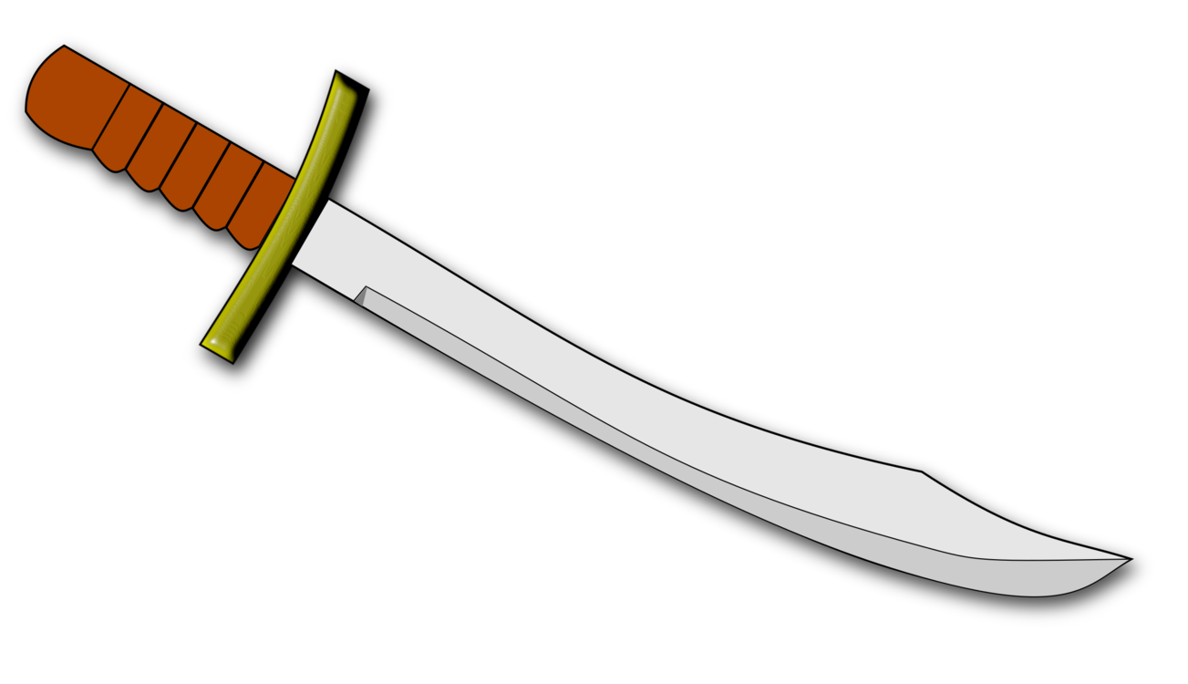 Dagger clipart cool. Scimitar syndrome knife sword