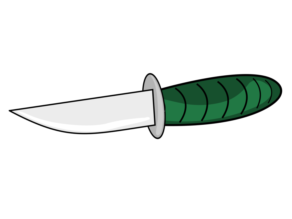 Dagger clipart cool. Hunting survival knives throwing