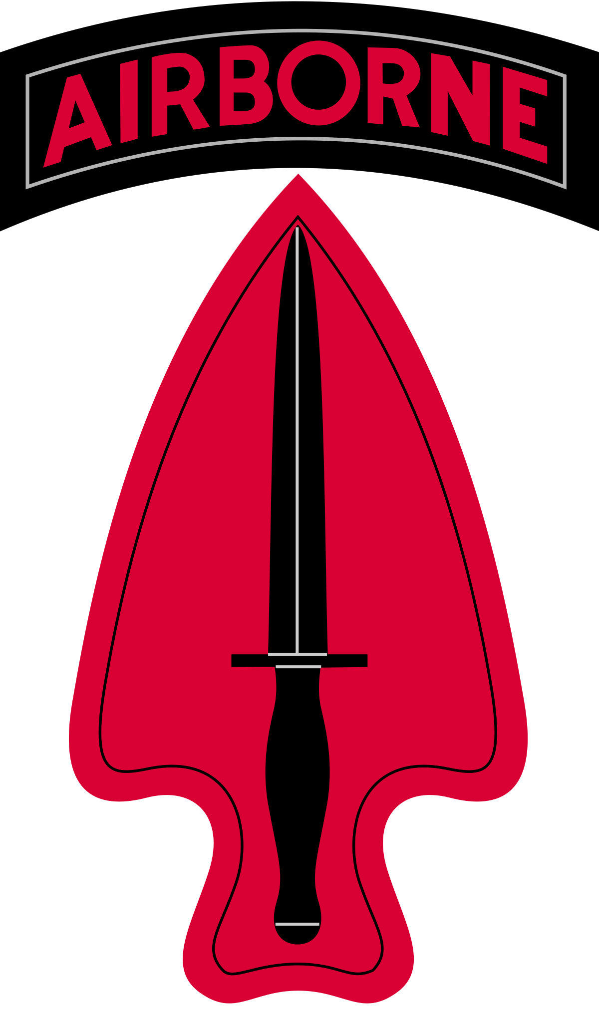 Dagger clipart special force. Delta wikipedia the st