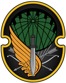 Dagger clipart special force. Th airborne forces