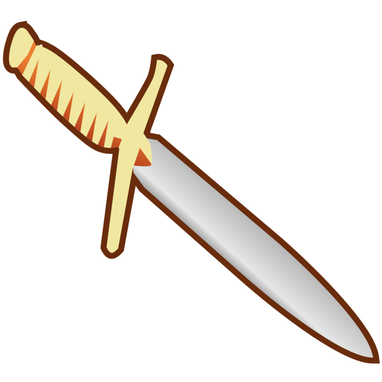 Knife weapon bayonet sword. Dagger clipart stab image transparent library