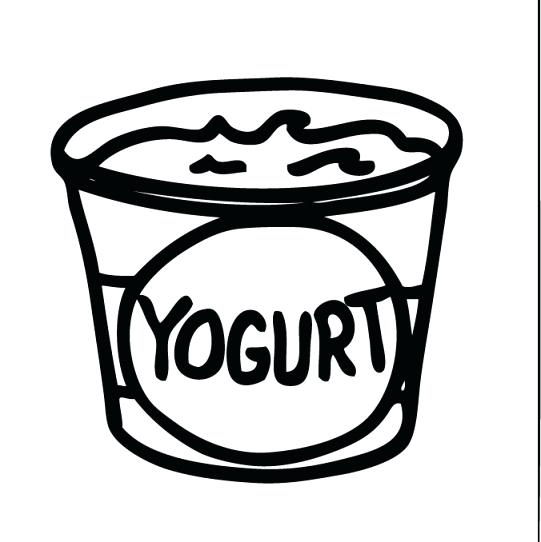 Yogurt clip art free. Dairy clipart yogart royalty free stock