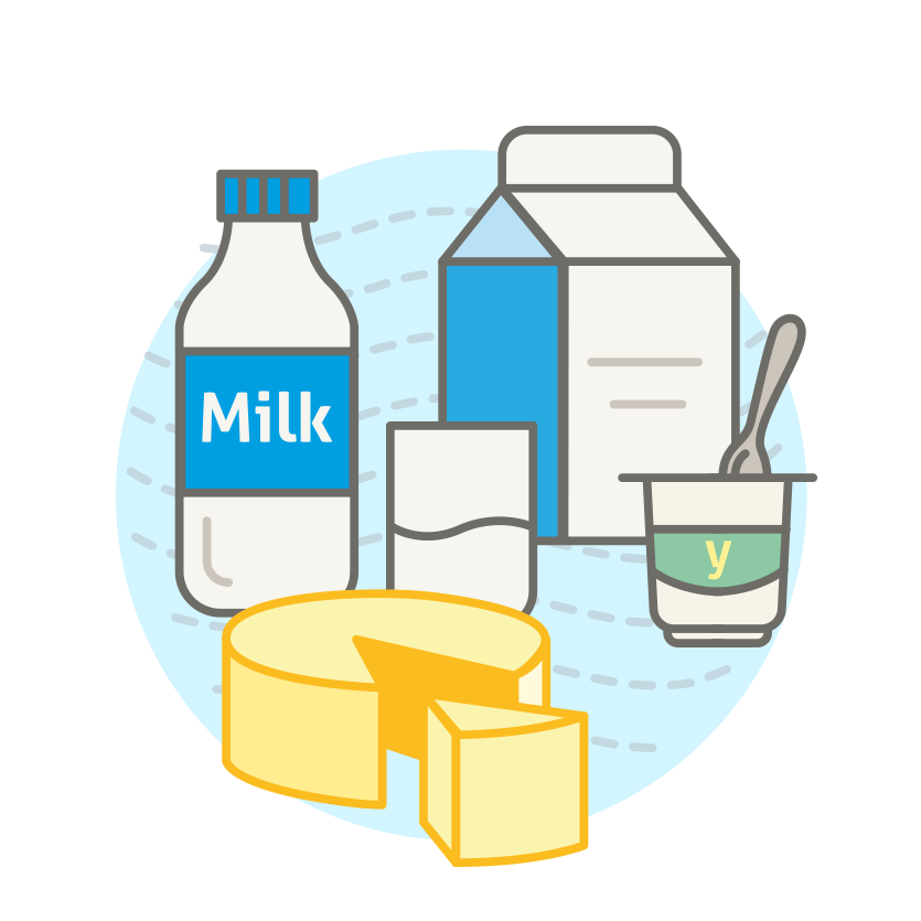 Milk yogurt and by. Dairy clipart yogart picture transparent library
