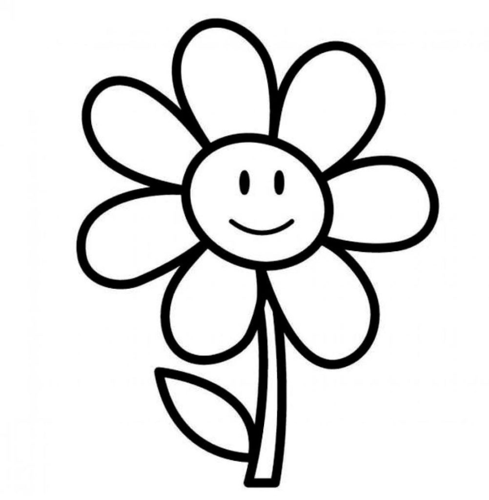 Daisies clipart flowerblack. Flower black and white