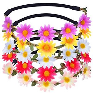 Daisies clipart multicolor. Eboot daisy flower headband