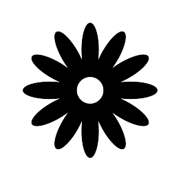 Flower silhouettes daisy. Daisies clipart silhouette jpg transparent download
