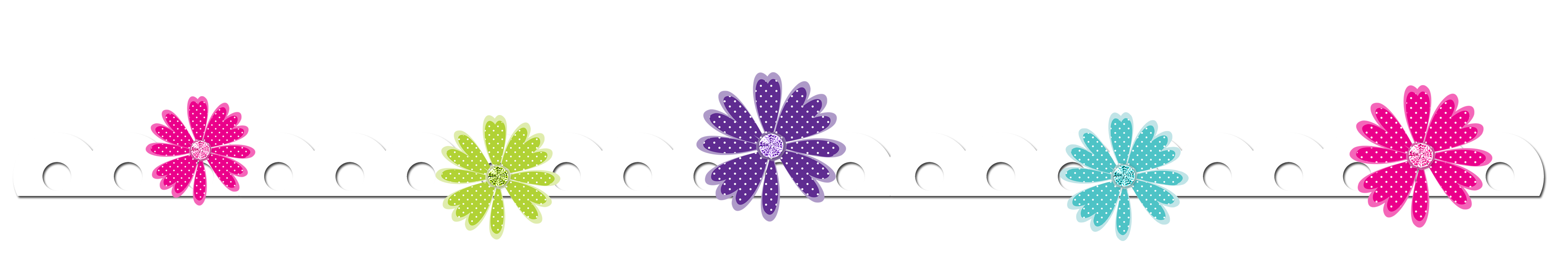 Daisy clipart banner. Clip art all things