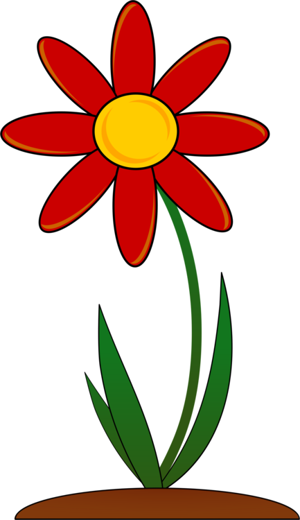 Daisy clipart bloom. Flower garden download common