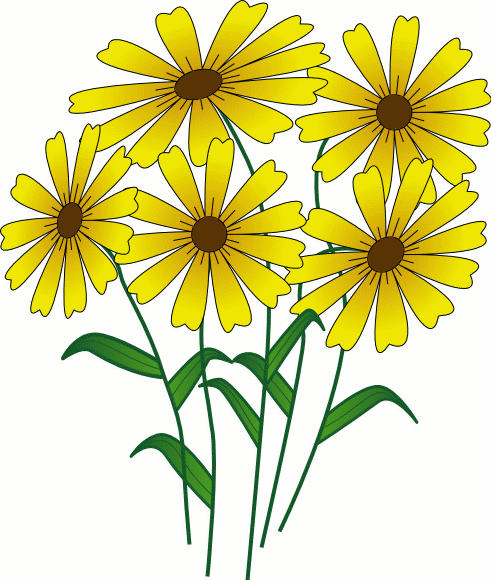 Bouquet clipart daisy bouquet.