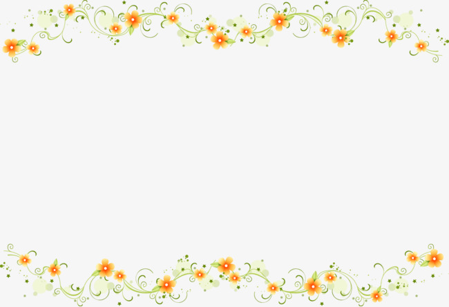 Daisy clipart frame. Beautiful small pattern png